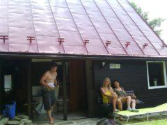 Nátěr střechy Čeladná