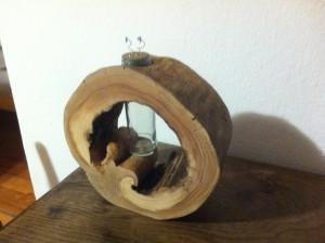 Váza - dřevo jabloň